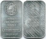 Vintage Engelhard One Ounce Silver Bars
