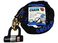 OXFORD 1.4M CHAIN AND PADLOCK