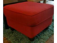 Habitat chester red footstool
