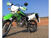 Kawasaki KLX 125 Motorbike - 2016 - 69 miles! - Dual Purpose Bike Suitable for On Road and Off Road