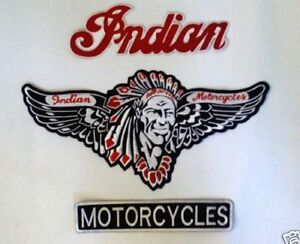 Motorcycle Gang 3 Piece Patch