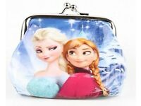 selection of childrens Frozen purses brand new and still in packets