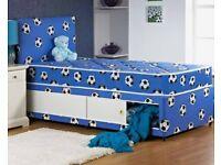 Boys Single Divan Bed With Storage