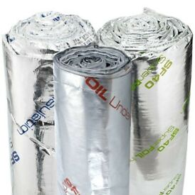 Superfoil insulation SF19+ SF40 SF60 SFUF Multifoil range available. Delivery in the Lincoln area