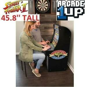 NEW* STREET FIGHTER 2 ARCADE GAME 31257065 245942254 RED PLANET ARCADE 1UP MACHINE CABINET CLASSIC CAPCOM