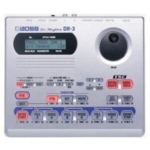 DRUM MACHINE, BOSS Dr. Rhythm DR - 3