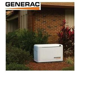 NEW* GENERAC 17kW GENERATOR 5873 209034468 GUARDIAN SERIES 120/240V SINGLE PHASE EZ TRANSFER SWITCH RESIDENTIAL