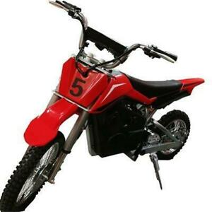 Brand New Kids Ride On Electric Dirt Bike 36V Battery, 500W Motor Front and Rear Brakes Front & Rear Shocks Rubber Tires