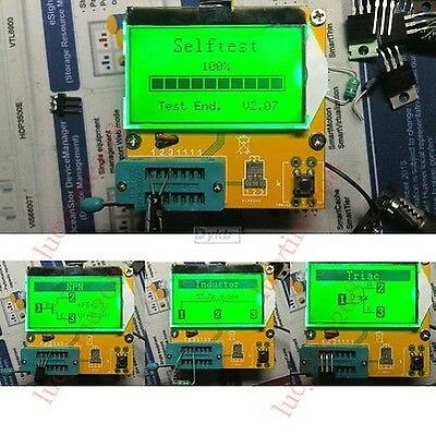 T3 M328 Digital Combo Tester Transistor Diode Inductor Capacitor LCR ESR Meter