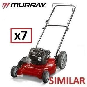 7 AS IS LAWN MOWERS UNINSPECTED - 119890065 - HIGH WHEEL MOWERS LAWNMOWER LAWNMOWERS CUTTING LANDSCAPING GRASS LAWNS ...
