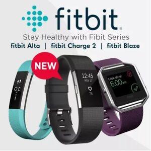 Brand New Sealed Box Fitbit Charge 2, Fitbit Versa, Ulta, Ionic