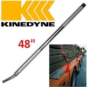 """NEW KINEDYNE CARGO WINCH BAR 48"""" KNURLED HANDLE TIE DOWN WINCHES 104081217"""