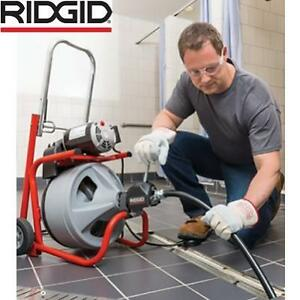 NEW* RIDGID PLUMBING DRUM MACHINE 27013 188194169 K 400AF 115VOLT C451W C45 INTEGRAL WOUND CABLE AUTOFEED