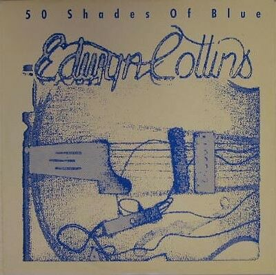 Edwyn Collins 50 Shades Of Blue UK 1989 12in Unplayed Orange (Blue Juice Sunglasses)