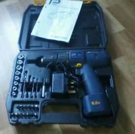 6V Drill Driver set seldom used handy for small jobs £15.