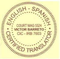 English translation Cuban Marriage Certificate Wedding License