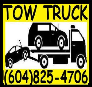 TOWING*Flat Deck*TOW TRUCK*604)825-4706 Vanc,SRY,Lang,TriC,CHWK