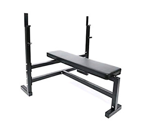 Olympic Bench Press with attachments.