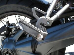 Wunderlich BMW R1200GS passenger footpeg lowing kit