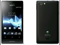Mobile phone Sony experia st23i