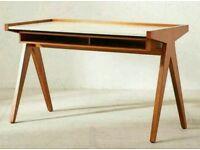 Mid Century Modern Wooden Desk