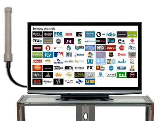HD Digital TV Antenna Indoor and Outdoor High Mile Range UHF VHF