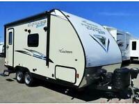 Coachmen Blast 17BLSE Toy Hauler,Showman,American,Caravan,Trailer,RV,5th wheel