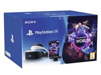 Brand New Sealed UK Official Sony PlayStation PS VR HEADSET PSVR BUNDLE for PS4