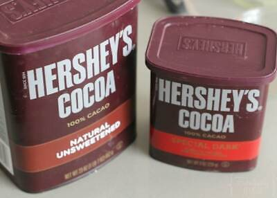 HERSHEY'S Cocoa 100% Natural Unsweetened Powder 23 oz or Special DARK Cocoa 8 (Cocoa Extra Dark Chocolate)