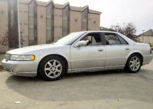 2001 Cadillac Seville STS- Fully Loaded- PLUS 2 parts cars!