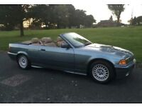 95 BMW 318I convertible with long MOT and low mileage -need tlc