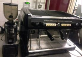 BRASILIA OPUS 2 GROUP AUTOMATIC COFFEE MACHINE WITH GRINDER AND KNOCKOUT DRAWER