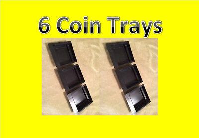6 Vendstar 3000 Bulk Candy Vending Machine Coin Collection Trays