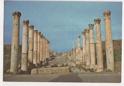 Street Of Columns Jerash Jordan Postcard Us061