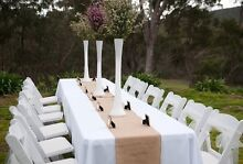 White Eiffel Tower Vases for Hire $10 Maribyrnong Maribyrnong Area Preview