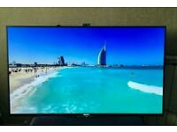 "Sony 49"" 4k 3D Smart led with built-in freeview and built-in camera"