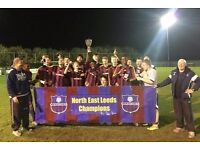 North East Leeds Juniors FC Under 18's need players
