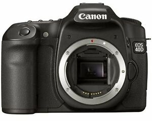 Canon 40D Camera body with 2 batteries and charger (ERR 99)
