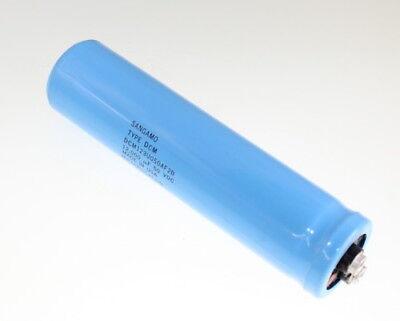 Sangamo 12000uf 50 Vdc Large Can Electrolytic Capacitor Dcm123u050af2b