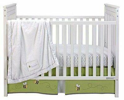 Wendy Bellissimo Honey Bee 3 Piece Crib Bedding Set 3 Piece Bee Set