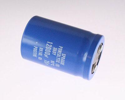 1x 12000uf 75v Large Can Electrolytic Aluminum Capacitor Dc 75vdc 12000uf 95c