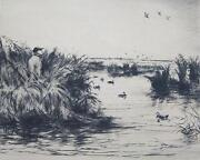 Duck Etching