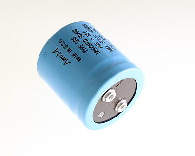 Lot Of 2 Mallory 12000uf 30v Large Can Electrolytic Capacitor Cgs123u030v2c