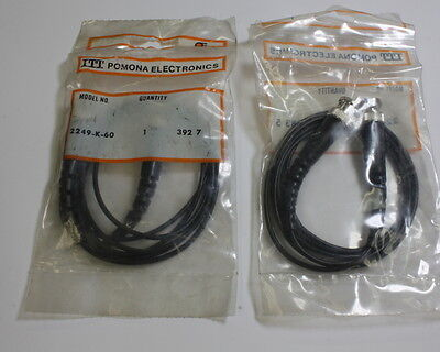 Pomona Bnc Male With Molded Strain Relief And Increased Flexibility 2249-k-60