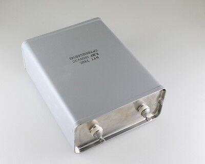 1x 8mfd 1000vdc Hermetically Sealed Oil Capacitor 8uf 1000v 1000 Volts Dc