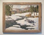 Snow Oil Painting