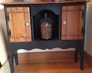 Pine cabinet ebay for Boro kitchen cabinets inc
