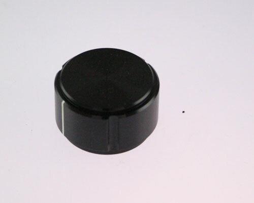 KN1250B-1/4 ALCO knob aluminum Fluted