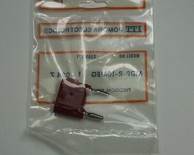 Lot Of 10 Red Pomona Precision Resistor Mdp-r-10meg