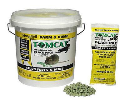 MOTOMCO Tomcat Rat & Mouse Bait Place Pacs - 22 count - PEST CONTROLS